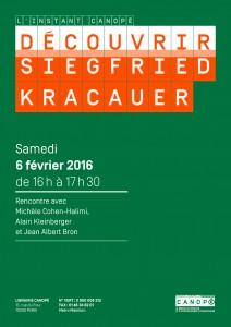 Siegfried Kracauer_affiche